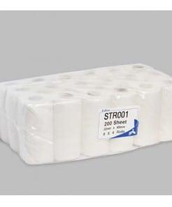 esfina str001 2ply white toilet rolls