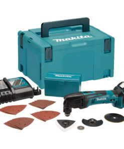 MAKITA 18V 1X 4.0 LI-ION MULTITOOL & 24PC ACCES KIT DTM50 RM1J1 & FAST CHARGER