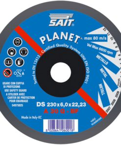 SAIT A30Q DPC METAL CUTTING DISC 115mm x 3mm x 22mm