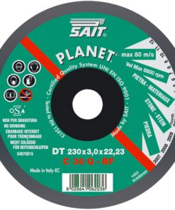 SAIT C30Q DPC STONE CUTTING DISC 115mm x 3mm x 22mm