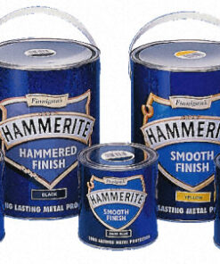 HAMMERITE DIRECT TO RUST SMOOTH TIN 750ML BRUSH ON