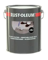 RUSTOLEUM FLOOR PAINT LIGHT GREY 7181 5L RAL 7035