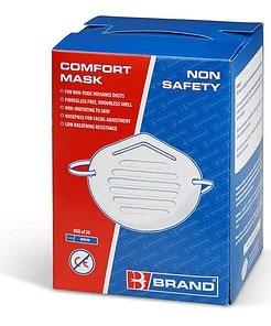 BOX 50 DISPOSABLE NUISANCE DUSK MASKS 67125