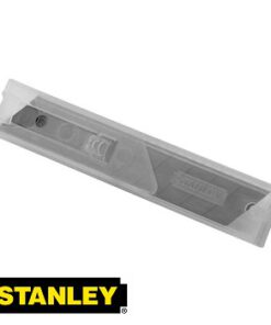 STANLEY 0-11-301 18MM PK 10 SNAP OFF KNIFE BLADES