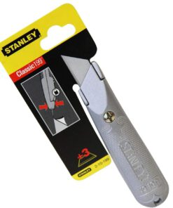 STANLEY FIXED BLADE KNIFE 2-10-199 199E + 3X BLADES