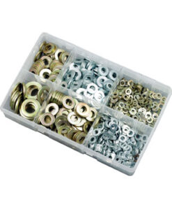 METRIC WASHERS BZP & ZINC YELLOW KIT M5-M16 ZZJ10531 800PC