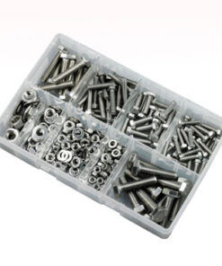 STAINLESS STEEL SETSCREW NUT WASHER KIT ZZJ10529 270PC