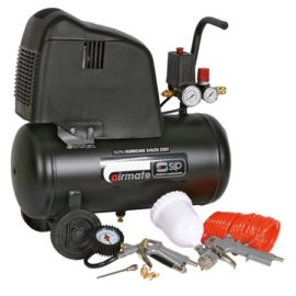 SIP AIRMATE HURRICANE 245/25 COMPRESSOR 06296 & 7PC KIT