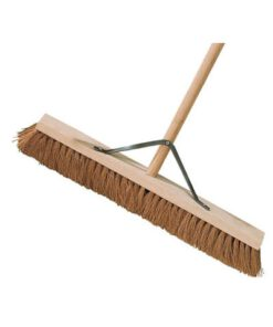 "24"" COCO BROOM C/W HANDLE & STAYS 612.600.240"