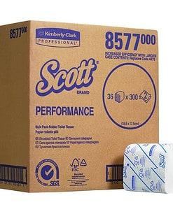 CASE (36) KC 8577 SCOTT PERFORMANCE BULK PACK TOILET TISSUE 2PLY