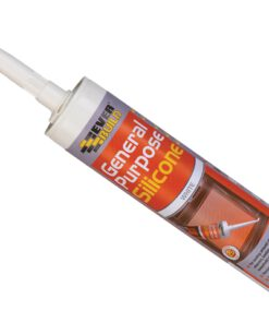 EVERBUILD EVBGPSWH GENERAL PURPOSE SILICONE SEALANT WHITE 310ML