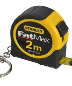 STANLEY FATMAX 2M KEYRING TAPE MEASURES