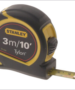 Stanley Pocket Tape  3m / 10ft (Width 12.7mm) 0-30-686 Tylon