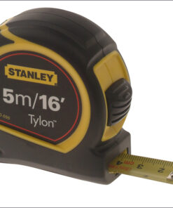 Stanley Pocket Tape 5m/16ft (Width 19mm) 0-30-696 Tylon