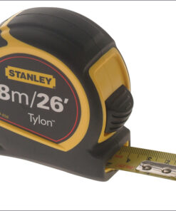 Stanley Pocket Tape 8m / 26ft (Width 25mm) 1-30-656 Tylon