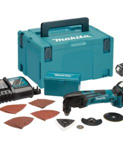 MAKITA 18V 2X 4.0 LI-ION MULTITOOL & 24PC ACCES KIT DTM50 & FAST CHARGER