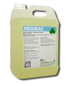 CLOVER VEGIBAC BACTERCIDAL VEGETABLE WASH 5L