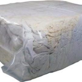 10 KG NETT WEIGHT WHITE RAG / LINEN  E10646-10