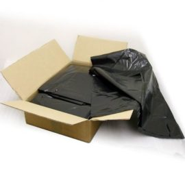 CASE(200) NEW  BLACK REFUSE SACKS 18x29x39 190G 71027 HAWK