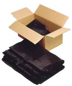 CASE(100) FGB COMPACTOR SACKS BLACK 20X34X47 300G