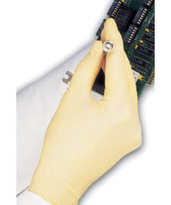 WHITE POWDER FREE LATEX GLOVES LPF100