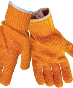XX YELLOW / ORANGE CRISS CROSS GRIPPA GLOVES